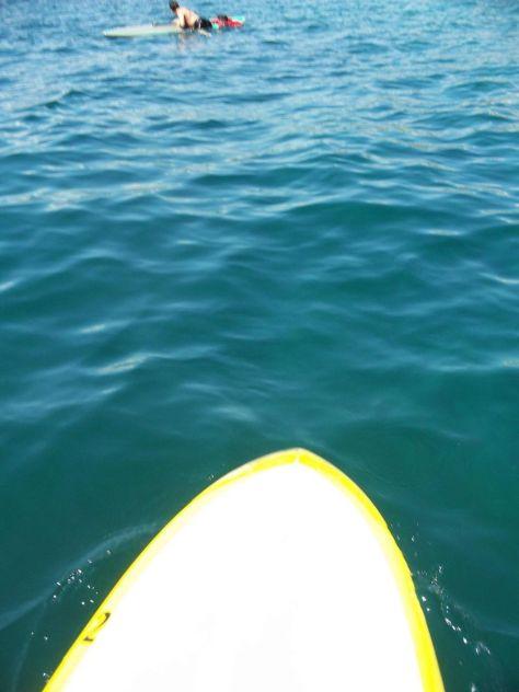 Paddle boarding Lake Chelan