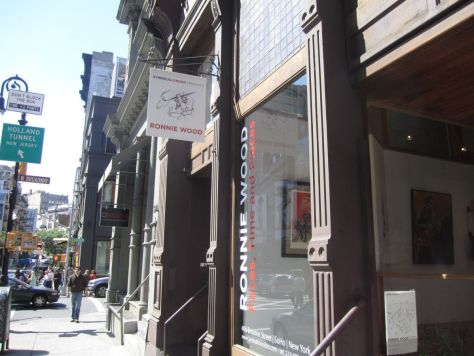 SoHo art gallery New York City