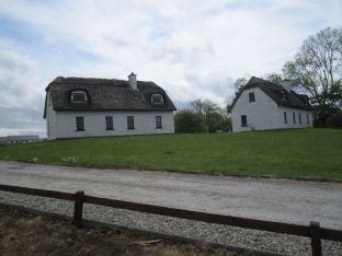 Ireland grass roof house