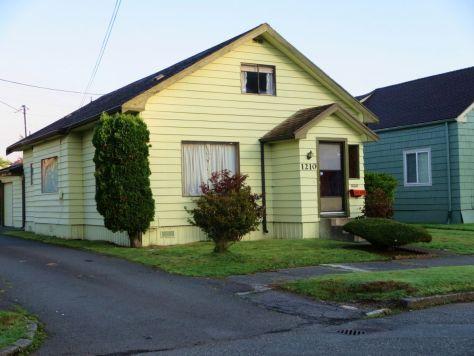 Kurt Cobain's house Aberdeen WA