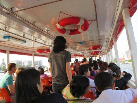 Bangkok river taxi Thailand