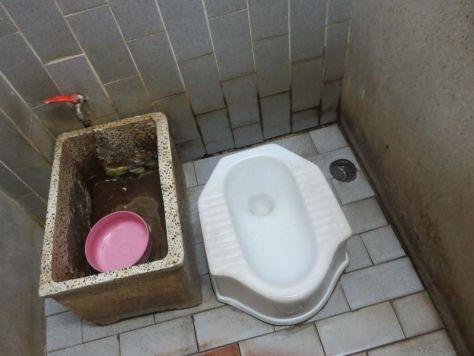Squat toilet in Thailand 558