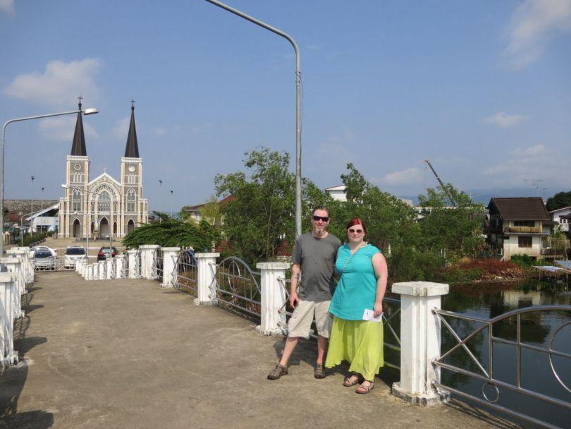 Chanthaburi town Thailand