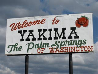 Welcome to Yakima the Palm Springs of Washington