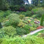The Sunken Garden The Butchart Gardens Victoria BC