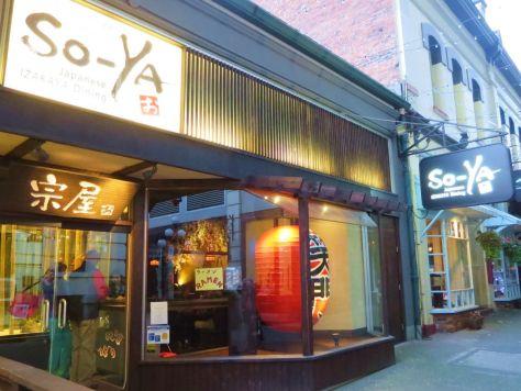 So-Ya Izakaya Victoria BC