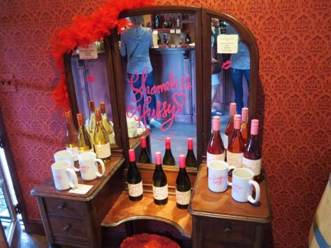 Shameless Hussy wine collection