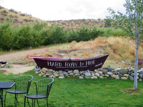 Chelan Crush wine harvest festival Hard Row to Hoe