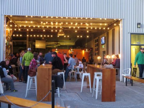 The Stoup Seattle Cycle Saloon tour
