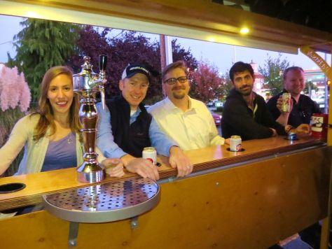 Seattle Cycle Saloon tour