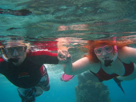 Snorkeling in Bora Bora honeymoon romantic getaways