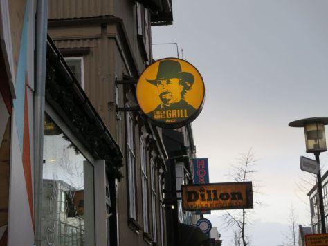 Chuck Norris Grill Reykjavik