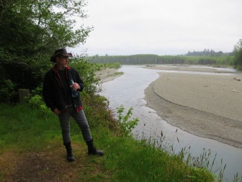 The Hoh River along the Pacific Northwest Trail