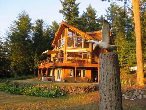 Lopez Island house