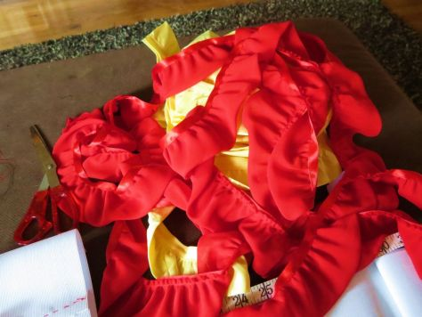 making a carmen miranda costume