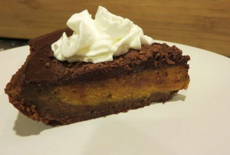 Mexican Chocolate Pumpkin Pie