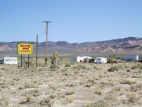 Weird things in Nevada: The Shady Lady Ranch