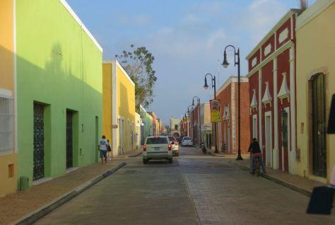 Valladolid street, Mexico