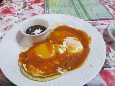 Huevos Rancheros at El Rey Del Caribe Hotel Cancun Mexico