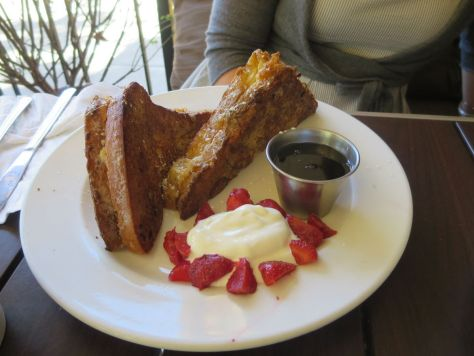 Baked Brioche French Toast, Olive Marketplace, Walla