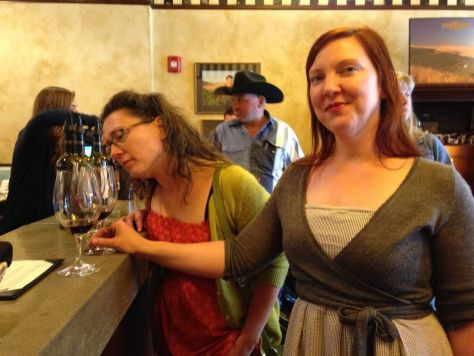 Wine tasting at Spring Valley tasting room, Walla Walla