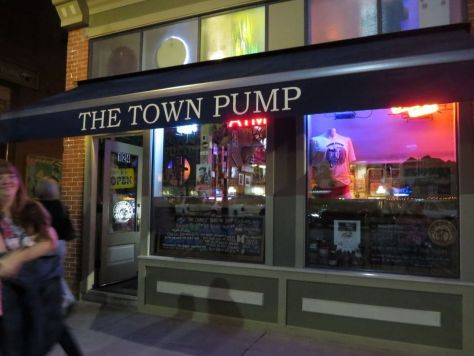 The Town Pump bar in Fort Collins