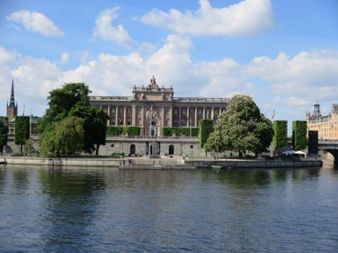 Rikdagshuset, Stockholm. Swedish parliament house.