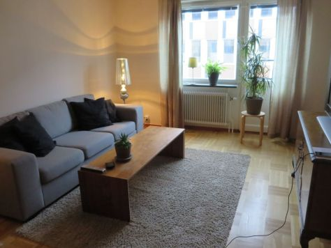 Airbnb apartment in Stockholm