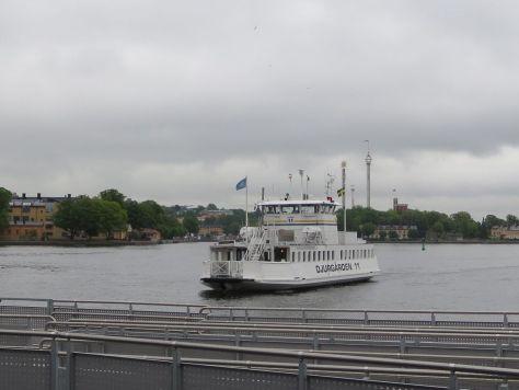 Djurgården ferry, Stockholm