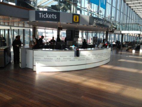 Stockholm Arlanda airport train station