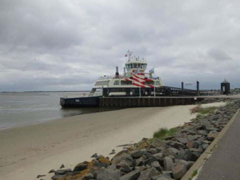 Fanø ferry beach