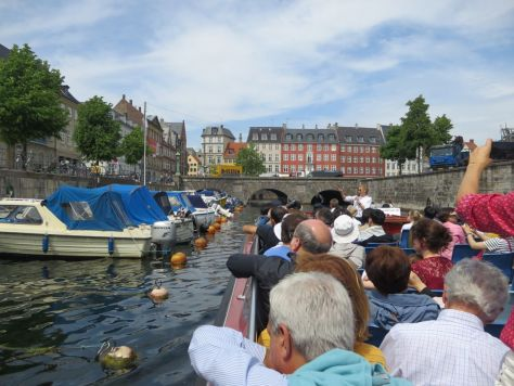 Canal tour of Copenhagen from Nyhavn