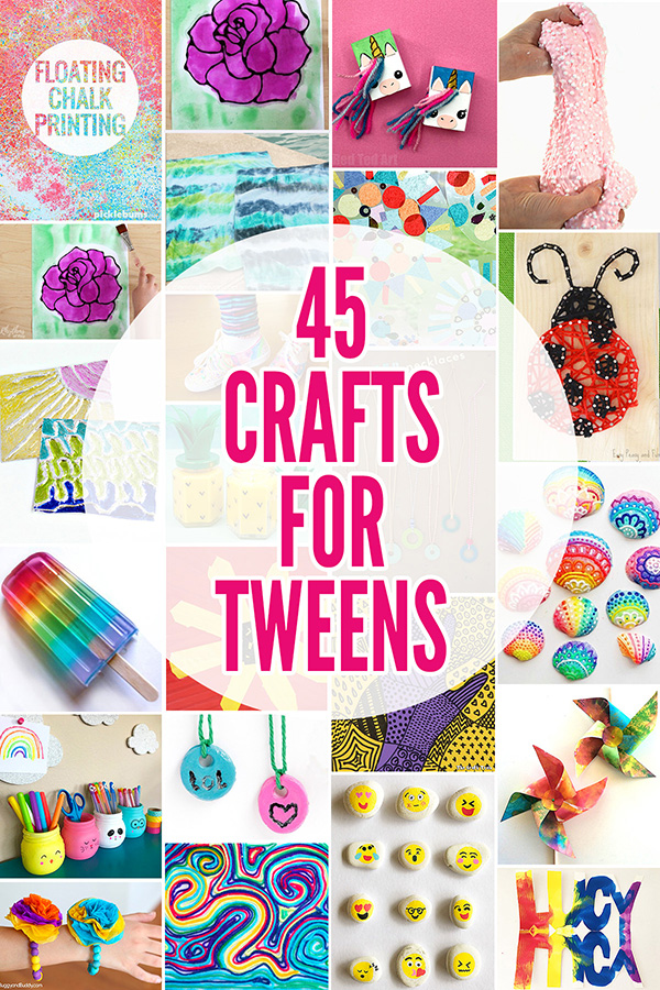 45 Fabulously Fun Summer Crafts For Tweens