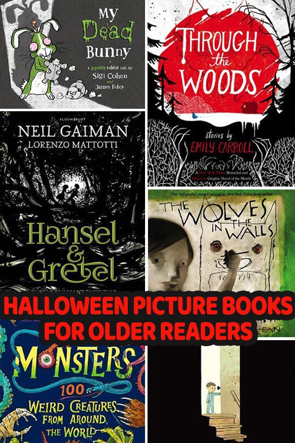 Halloween Picture Books for Older Readers