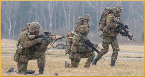Exercise Cerberus Guard march '13