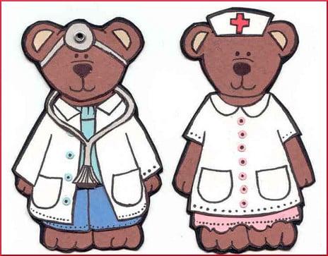 Doctor and Nurse Bears