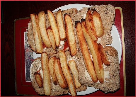 A Chip Butty