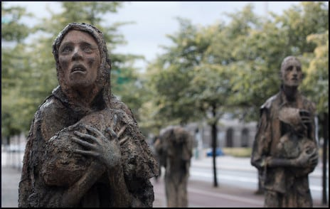 famine-sculpture