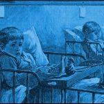 illustration-boys-reading-in-bed