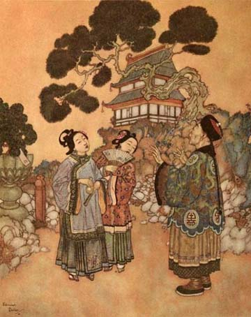 The Same Gurgling, by Edmund Dulac