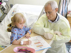 Teachers in the hospital