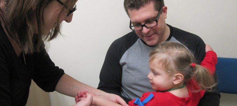 Therapeutic Position: Three Ways To Hold Your Child For a Shot or Blood Test