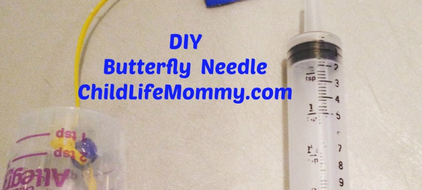 DIY Medical Play: Butterfly Needle