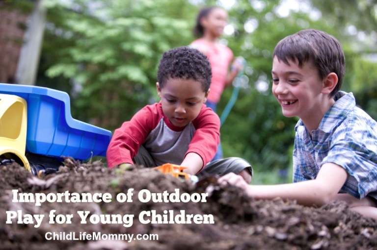 Importance of Outdoor Play For Young Children