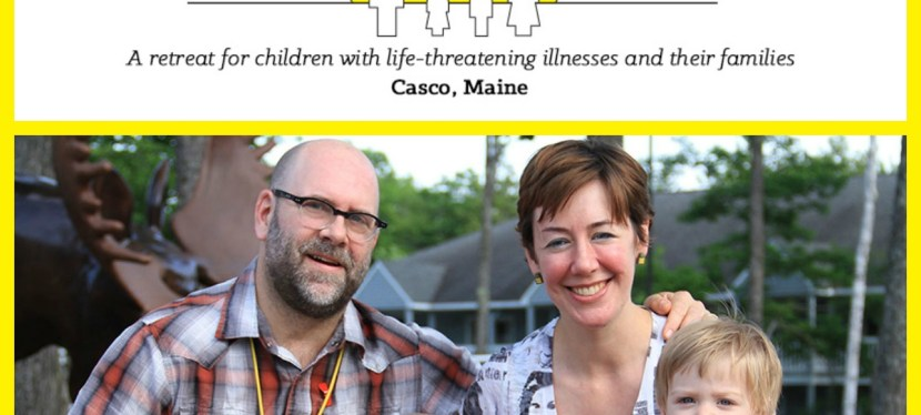 Connecting Families Together at Camp Sunshine in Sebago Lake