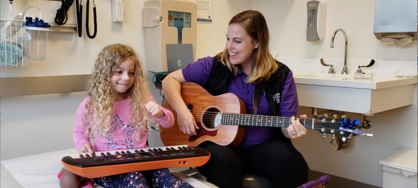 Using Music, Nature and Friendship to Help Families Cope with Cancer