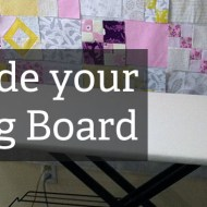 Turn your Ironing Board into a Mega Pressboard