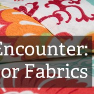Sewing with Outdoor Fabric