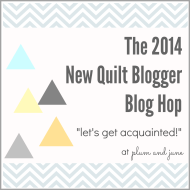 New Quilt Bloggers Blog Hopping!