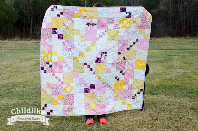 Penny Patch Quilt Along Finished